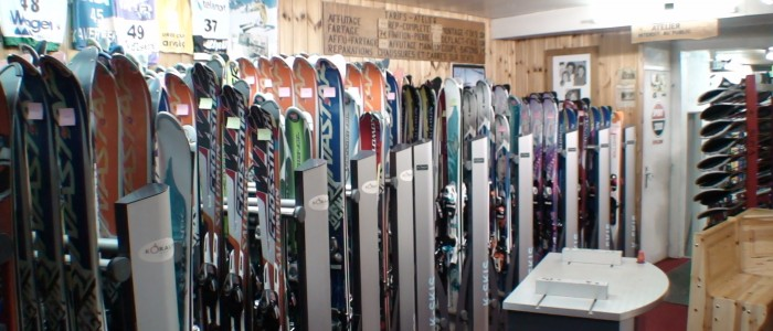 location de ski à tignes le lac